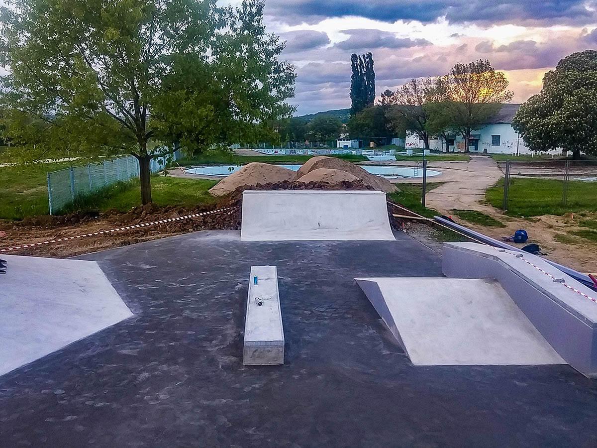 Skate park Nova Gradiška izgradnja 4