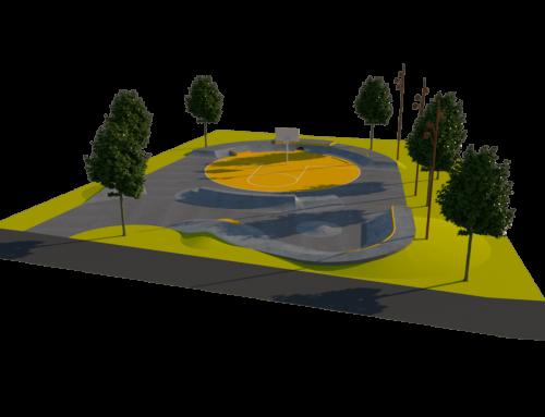 Nacrt za skate park Pomer
