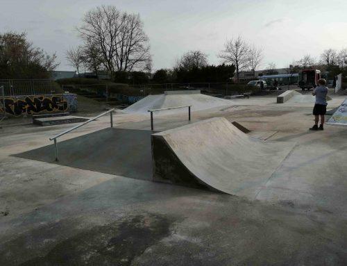 Skate park u Schwabisch Hallu (DE)