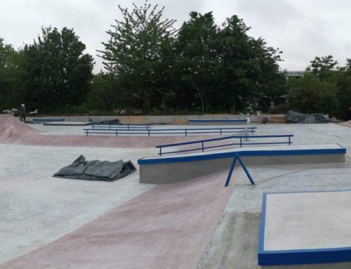 Skate park u Bayreuthu (DE)